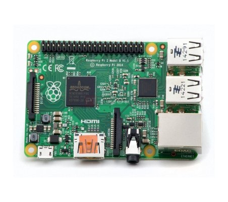 Raspberry Pi 2  - 1Gb 900Mhz Quad Core - 6x faster