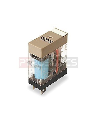 Industrial Relay OMRON  G2R-2-SN 250V 5A Coil 24V | Relés | Omron