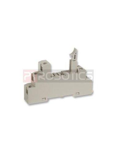 Omron P2RF-05-E  Din Rail Relay Socket   Relés   Omron