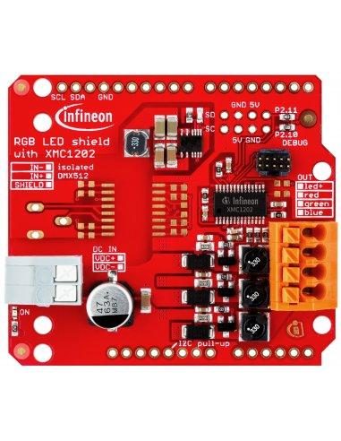 Infineon Lighting RGB LED Arduino Shield | Infineon |
