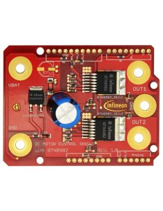 DC Motor Control Shield with BTN8982TA for Arduino
