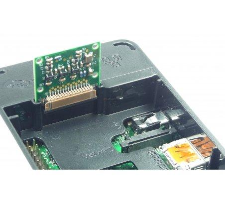 Raspberry Pi B+ and 2 Case Black OneNineDesign | Caixas Raspberry pi |