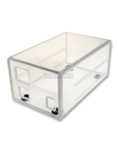 Arduino UNO & Shield Enclosure Clear | Caixa Arduino |