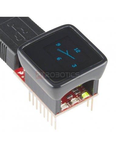 MicroView - OLED Arduino Module | Arduino | Sparkfun