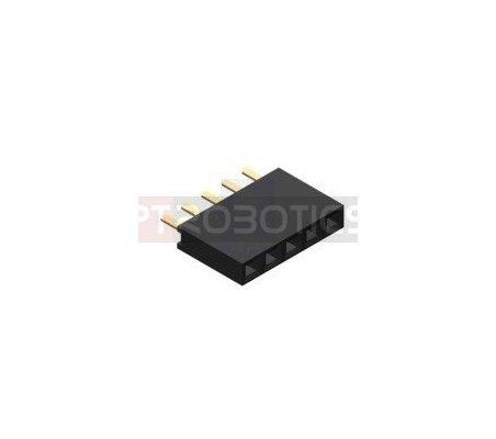PCB Socket 5Pin Single Row   Headers e Sockets  