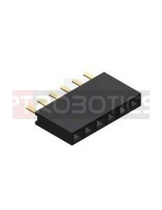 PCB Socket 6Pin Single Row