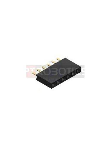 PCB Socket 6Pin Single Row | Headers e Sockets |