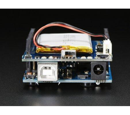 Adafruit PowerBoost 500 Shield - Rechargeable 5V Power Shield   Shields Varios   Adafruit
