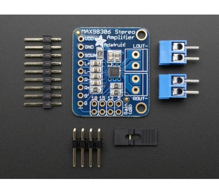 Stereo 3.7W Class D Audio Amplifier - MAX98306 Adafruit
