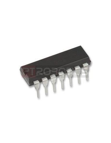 MCP6274 - Quad Rail-to-Rail Operational Amplifier | Circuitos Integrados |
