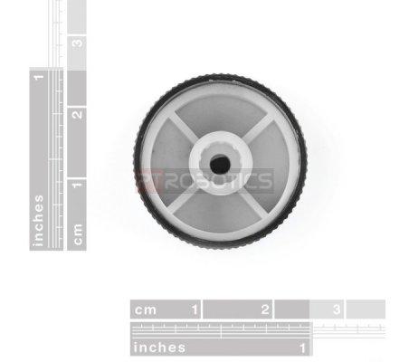 Black Metal Knob - 14x24mm | Botões | Sparkfun