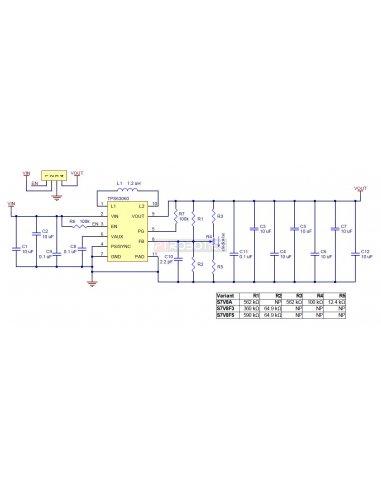 Pololu S7V8F3 3.3V Step-Up Step-Down Voltage Regulator | Regulador de Voltagem | Alimentação | Pololu
