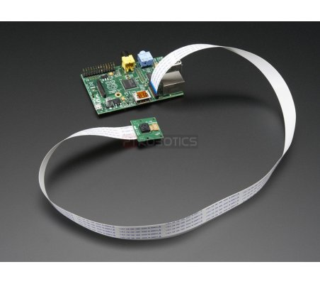 """Flex Cable for Raspberry Pi Camera - 24"""" - 610mm Adafruit"""