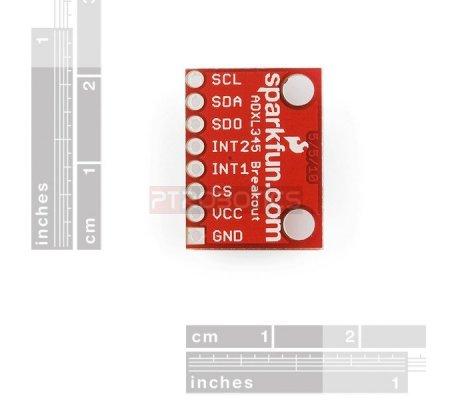SparkFun Triple Axis Accelerometer Breakout - ADXL345 | Acelerómetros | Sparkfun