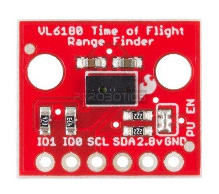 SparkFun ToF Range Finder Breakout - VL6180   Sensores Ópticos   Sparkfun