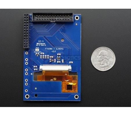 PiTFT 2.8 TFT 320x240 + Capacitive Touchscreen for Raspberry Pi Model B | LCD Raspberry Pi | Adafruit
