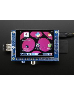 "PiTFT 2.8"" TFT 320x240 + Capacitive Touchscreen for Raspberry Pi Model B"