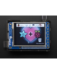 """PiTFT Plus 320x240 2.8"""" TFT + Resistive Touchscreen for Pi 2 and Model A+ / B+"""