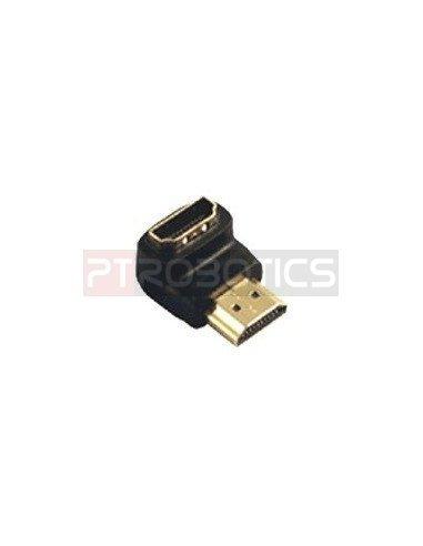 HDMI Female to HDMI Male 90º Adapter vertical