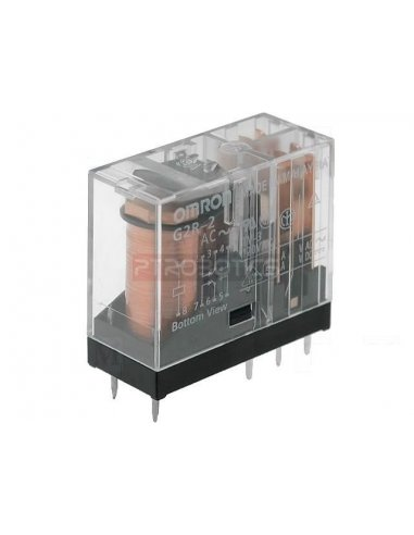 Relay Omron G2R-2 5DC DPDT 250V 5A Coil 5V | Relés | Omron