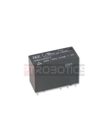 Relay SPDT 230V 16A Coil 5V | Relés |