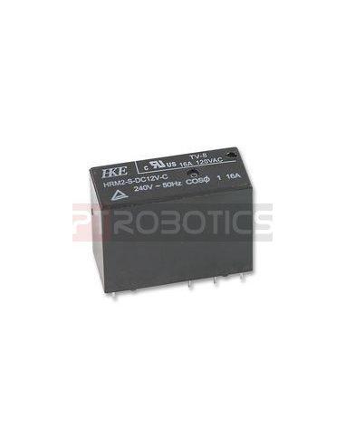 Relay SPDT 230V 16A Coil 12V | Relés |