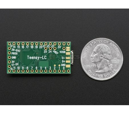 Teensy-LC Without Pins   Teensy  