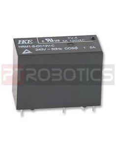 Relay DPDT 230V 5A Coil 12V