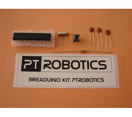 Kit Breaduino ATMEGA328 Bootloader Duemillanove | ATMEL |
