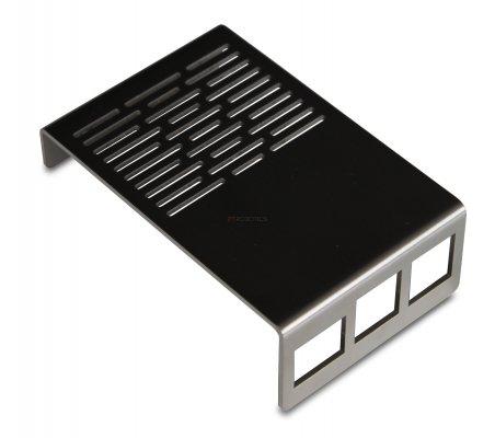B-Armour Raspberry Pi B+ and 2 Inox Case | Caixas Raspberry pi |