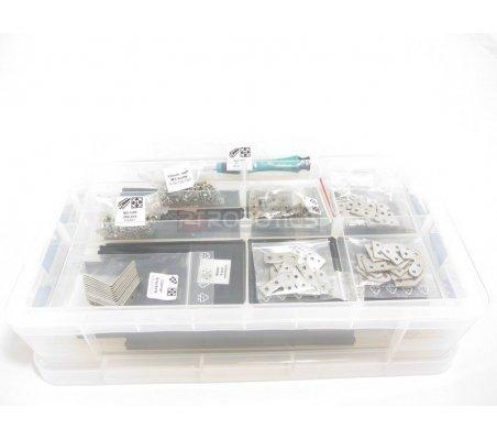 MakerBeam Clear Starter Kit in a Storage Box | Makerbeam | Makerbeam