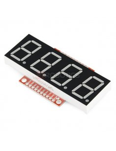 SparkFun OpenSegment Serial Display - 20mm Red