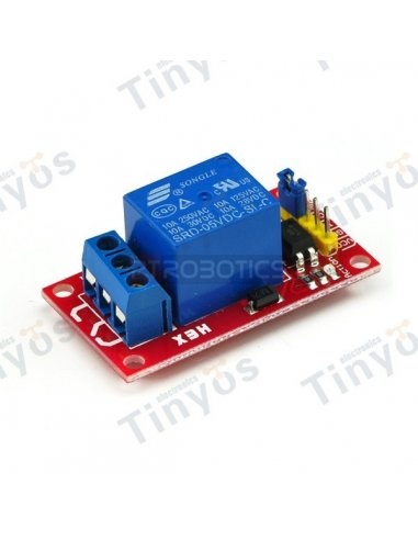 1 Channel 5V Relay Shield Module | Relés | TiniSyne