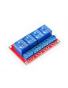 4 Channel 5V Relay Shield Module