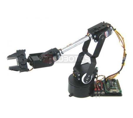 Lynxmotion AL5D 4 Degrees of Freedom Robotic Arm Combo Kit (BotBoarduino)