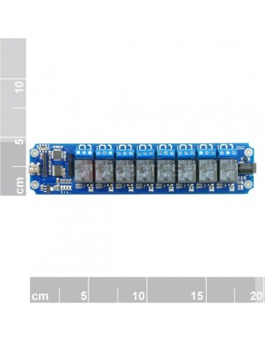 TOSR08 - 8 Channel USB/Wireless 5V Relay Module   Relés   TiniSyne