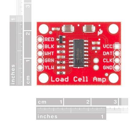 SparkFun Load Cell Amplifier - HX711 | Varios | Sparkfun