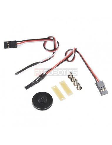 Wheel Encoder Kit   Encoders   Sparkfun
