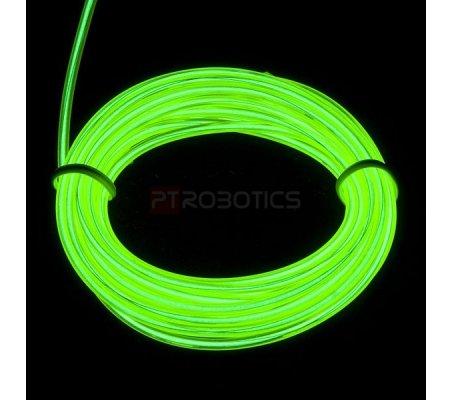 EL Wire - Verde 3m   El-Wire - Fio Electroiluminescente   Sparkfun