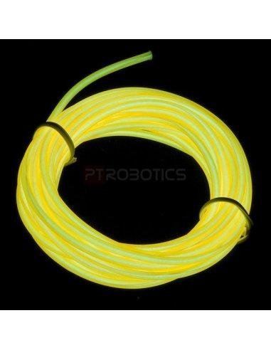 EL Wire - Yellow 3m | El-Wire - Fio Electroiluminescente | Sparkfun