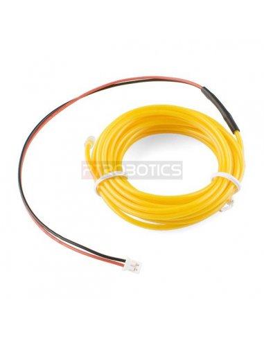 EL Wire - Amarelo 3m Sparkfun