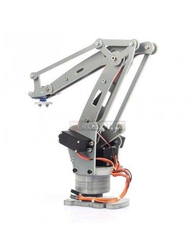 Diy 4 Axis Servos Control Palletizing Robot Arm Model