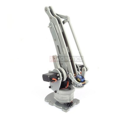 DIY 4-Axis Servos Control Palletizing Robot Arm Model for Arduino