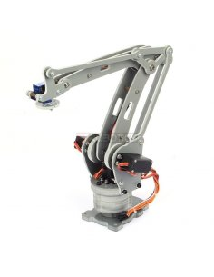 DIY 4-Axis Servos Control Palletizing Robot Arm Model for Arduino