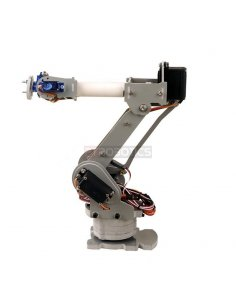 DIY 6-Axis Servos Control Palletizing Robot Arm Model