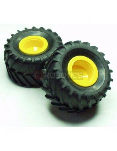 Off-road tires | Rodas para Robôs |