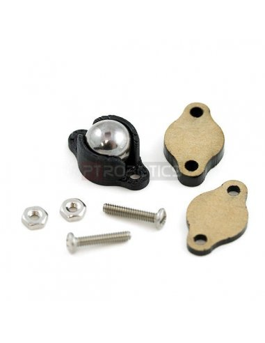 Ball Caster Metal - 3/8 | Casters |