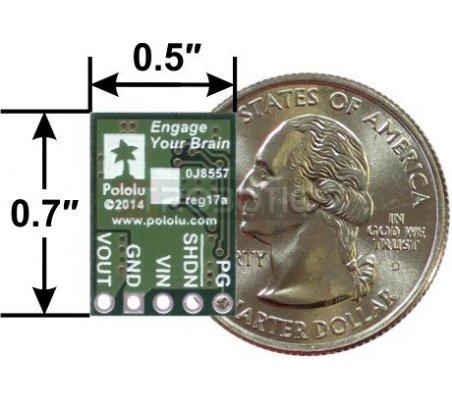Regulador de Tensão Step-Down 5V 1A - D24V10F5 | Alimentação | Pololu