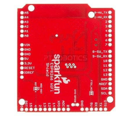 SparkFun WiFi Shield - ESP8266 | Comunicação Arduino | Sparkfun
