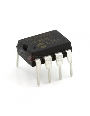 MCP3002 - 2-Channel 10-Bit ADC With SPI Interface Microchip